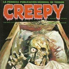 Fumetti: CREEPY- EL CÓMIC DE TERROR Y LO FANTÁSTICO- Nº 9 -CORBEN-ORTIZ-ALEX TOTH-1979-M.BUENO-DIFÍCIL-2078. Lote 178256673