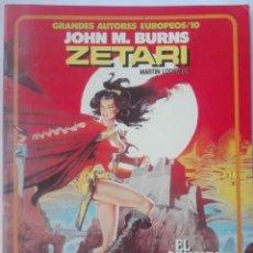 Cómics: ZETARI- JOHN M. BURNS# Y3. Lote 178577332