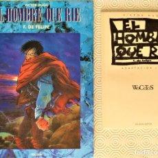 Cómics: EL HOMBRE QUE RIE DE VICTOR HUGO DE F. DE FELIPE . Lote 178772445