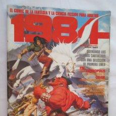 Cómics: 1984 EL COMIC DE LA FANTASIA Y LA CIENCIA FICCION PARA ADULTOS Nº 63 - AÑOS 1980 . Lote 178799711