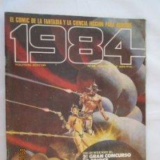 Cómics: 1984 EL COMIC DE LA FANTASIA Y LA CIENCIA FICCION PARA ADULTOS Nº 62 - AÑOS 1980 . Lote 178799793