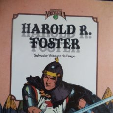 Cómics: HAROLD FOSTER SALVADOR VAZQUEZ DE PARGA LIBRO EN BUEN ESTADO Nº 3 COLECCION NOSTALGIA. Lote 178853251