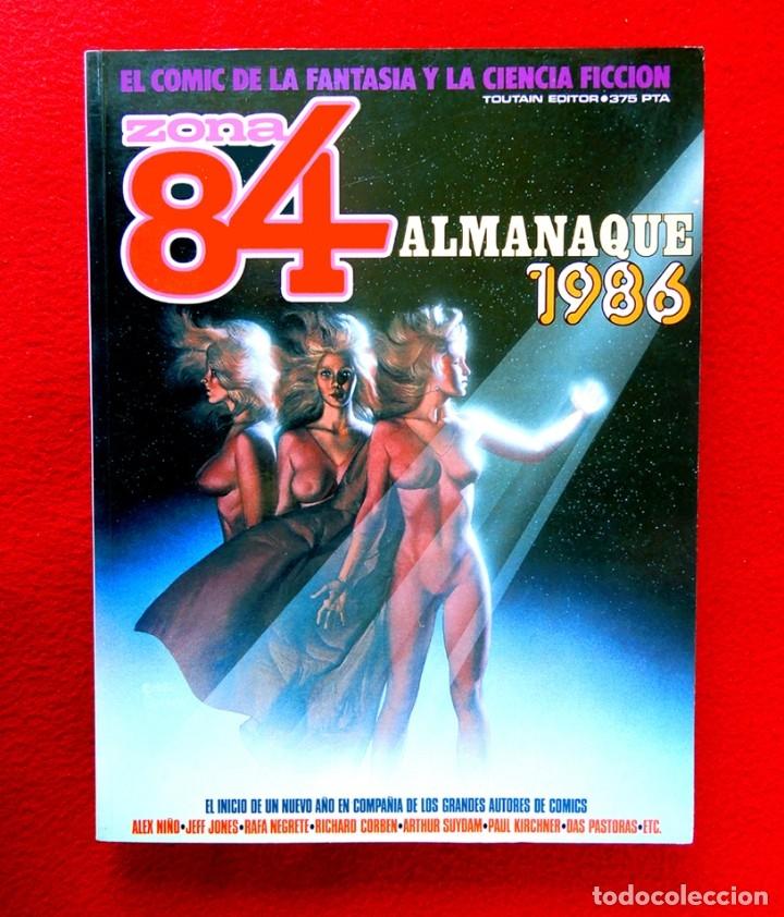 ZONA 84, ALMANAQUE 1986 - TOUTAIN EDITOR - FANTASÍA Y CIENCIA FICCIÓN, PRIMERA EDICIÓN - NUEVO (Tebeos y Comics - Toutain - Zona 84)