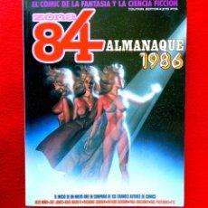 Cómics: ZONA 84, ALMANAQUE 1986 - TOUTAIN EDITOR - FANTASÍA Y CIENCIA FICCIÓN, PRIMERA EDICIÓN - NUEVO. Lote 178928560