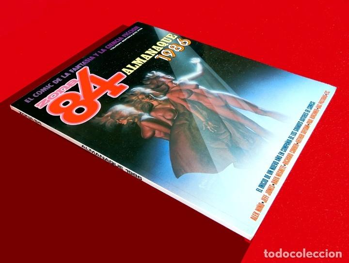 Cómics: ZONA 84, ALMANAQUE 1986 - TOUTAIN EDITOR - FANTASÍA Y CIENCIA FICCIÓN, PRIMERA EDICIÓN - NUEVO - Foto 2 - 178928560
