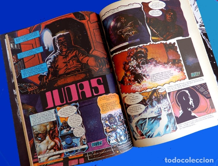 Cómics: ZONA 84, ALMANAQUE 1986 - TOUTAIN EDITOR - FANTASÍA Y CIENCIA FICCIÓN, PRIMERA EDICIÓN - NUEVO - Foto 5 - 178928560