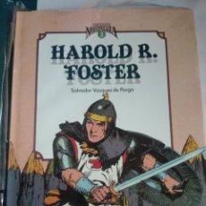 Cómics: CUANDO EL COMIC ES NOSTALGIA 3.HAROLD FOSTER.TOMO ENCUADERNACIÓN DE LUJO # W. Lote 178963330