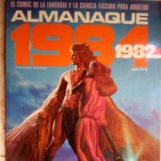 Comics : 1984 ALMANAQUE 1982 -EL MEJOR CÓMIC DE FANTASÍA-CORBEN-FERNANDO-JUAN GIMÉNEZ-1981-MUY BUENO-2124. Lote 178974871