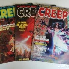 Cómics: LOTE CREEPY Nº59 60 61 (AÑO 1984). Lote 178993296