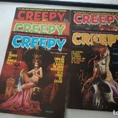 Cómics: CREEPY . - 2 EDICION . Nº 1 - 2 -4- 5- 7. Lote 179040841