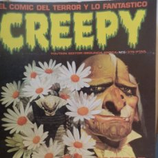 Cómics: CREEPY Nº 5 SEGUNDA EPOCA PERFECTO ESTADO. Lote 179228937
