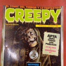 Cómics: COMIC CREEPY DE TOUTAIN, EXTRA NUMERO 12, NUMEROS 53, 54, 55, 56. EN MUY BUEN ESTADO. Lote 179543223