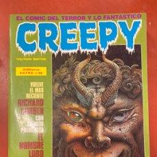 Cómics: COMIC CREEPY DE TOUTAIN, EXTRA NUM. 14, NUMEROS 61, 62, 63, 64. EN MUY BUEN ESTADO. Lote 179544476
