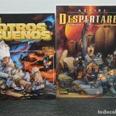 Cómics: AZPIRI - OTROS SUEÑOS (PESADILLAS II) - DESPERTARES (PESADILLAS III) (ENVÍO 4,31€). Lote 148707834