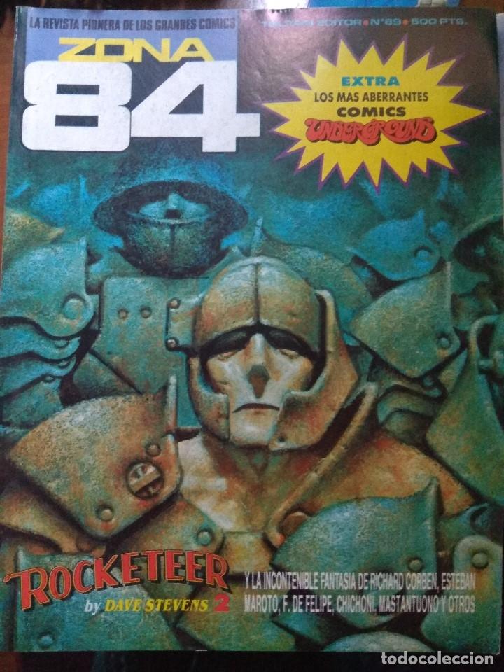 ZONA 84 Nº 89 - EXCELENTE ESTADO (Tebeos y Comics - Toutain - Zona 84)