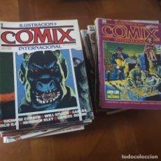 Cómics: COLECCION COMPLETA DE COMIX INTERNACIONAL . Lote 180231660