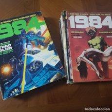 Cómics: VENDO COMIC 1984 DEL NUMERO 1 AL 28 Y DOS ALMANAQUES: 1980 Y 1981. Lote 180233086