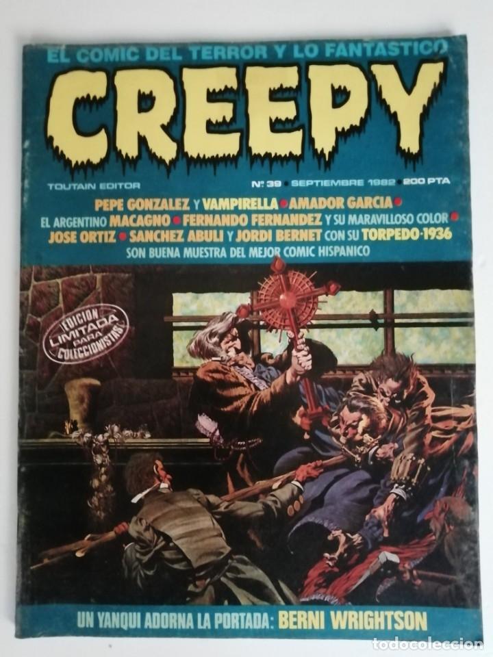 Cómics: lote creepy Nº 39, 43 y 65 (año 1984) - Foto 2 - 180297783