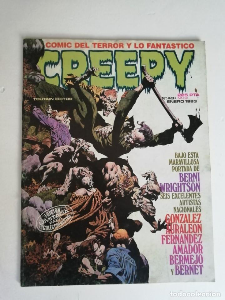 Cómics: lote creepy Nº 39, 43 y 65 (año 1984) - Foto 3 - 180297783