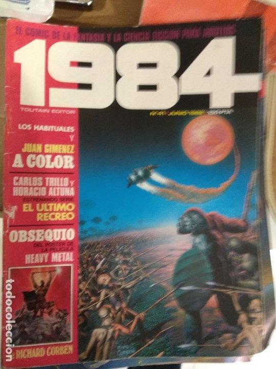 COMIC 1984 TOUTAIN NUMERO 41 (Tebeos y Comics - Toutain - 1984)