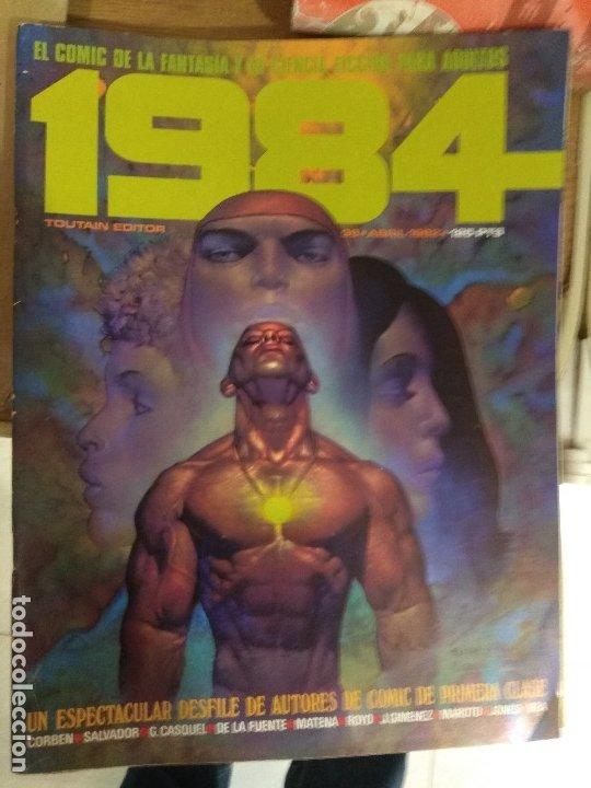 COMIC 1984 TOUTAIN NUMERO 39 (Tebeos y Comics - Toutain - 1984)