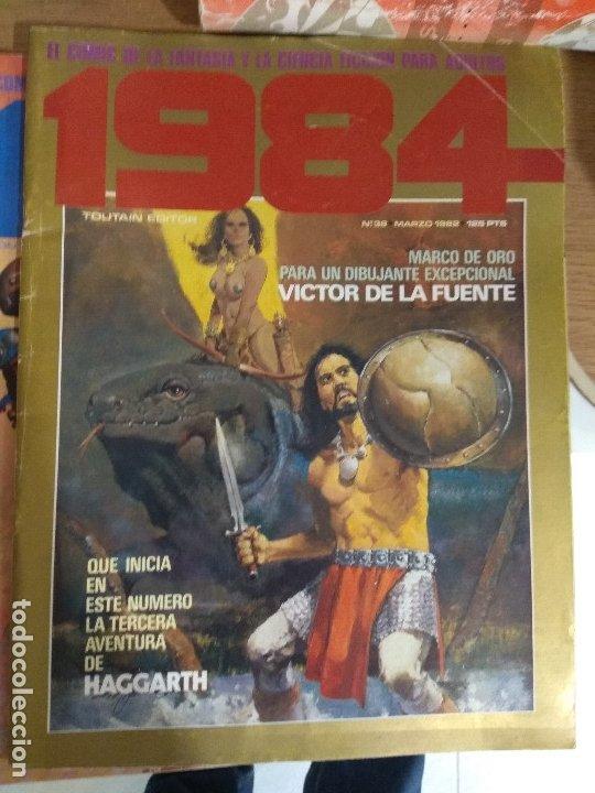 COMIC 1984 TOUTAIN NUMERO 36 (Tebeos y Comics - Toutain - 1984)