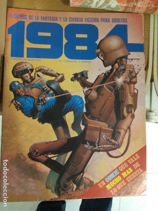 COMIC 1984 TOUTAIN NUMERO 35 (Tebeos y Comics - Toutain - 1984)
