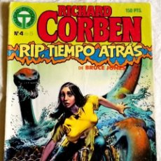 Cómics: COMIC TOUTAIN Nº4, 1988 - RICHARD CORBEN, RIP, TIEMPO ATRÁS DE BRUCE JONES. Lote 180929425