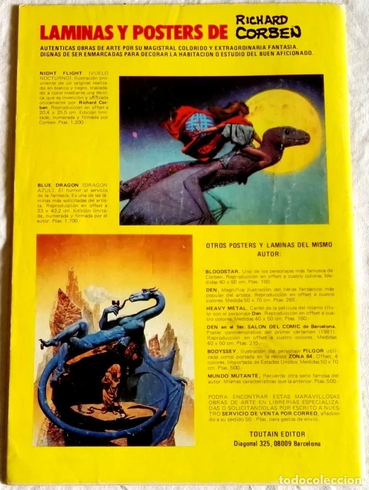 Cómics: Comic Toutain Nº4, 1988 - Richard Corben, Rip, Tiempo atrás de Bruce Jones - Foto 2 - 180929425