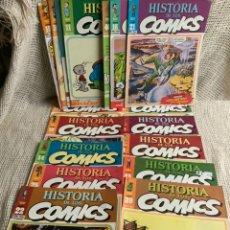 Cómics: HISTORIA DE LOS COMICS - LOTE DE 28 EJEMPLARES - EDITA : TOUTAIN AÑOS 80. Lote 168325540
