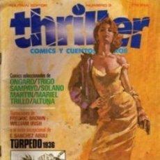 Comics: THRILLER Nº 3 - TOUTAIN - MUY BUEN ESTADO. Lote 181602047