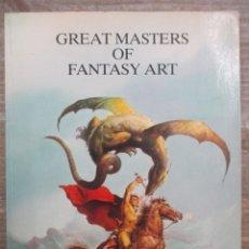 Cómics: GREAT MASTERS OF FANTASY ART / MAESTRO DE LA FANTASIA / CORBEN - SEGRELLES - FRAZETTA - INGLES. Lote 181779262