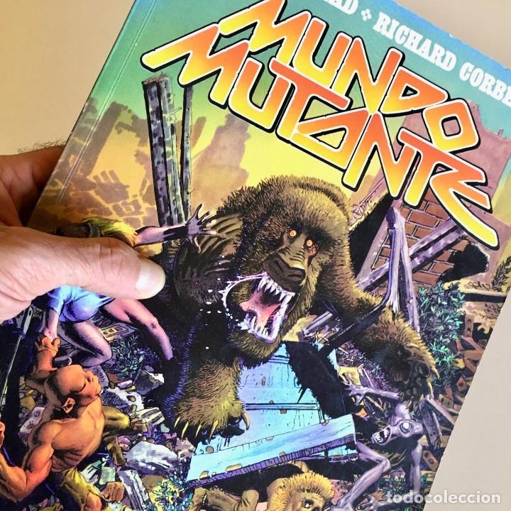 Cómics: Cómicbook MUNDO MUTANTE de Jan Strnad y Richard Corben, TOUTAIN EDITOR, edición 1982 - Foto 7 - 182004653