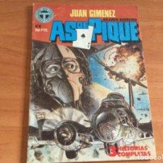 Cómics: JUAN GIMÉNEZ Y RICARDO BARREIRO. AS DE PIQUE Nº 8, 3 HISTORIAS COMPLETAS. TOUTAIN 1988. Lote 182142548