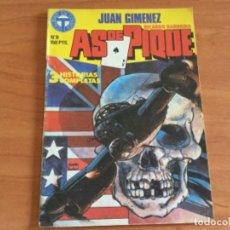 Cómics: JUAN GIMÉNEZ Y RICARDO BARREIRO, AS DE PIQUE Nº 9. 3 HISTORIAS COMPLETAS. TOUTAIN 1988. Lote 182143077