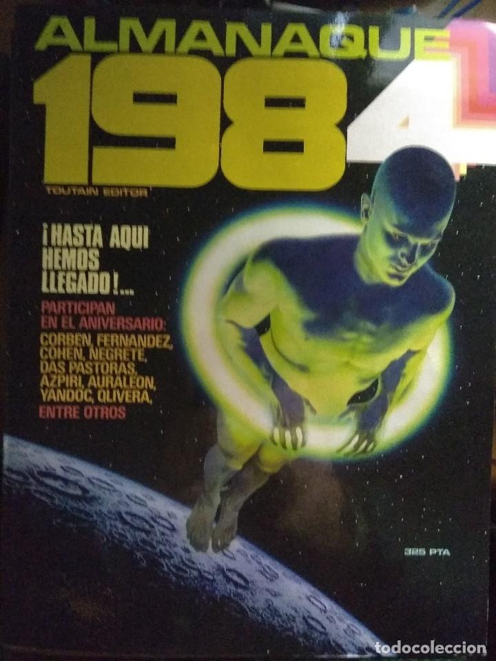 1984 ALMANAQUE AÑO 1984 - TOUTAIN (Tebeos y Comics - Toutain - 1984)