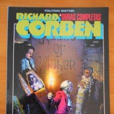 Cómics: RICHARD CORBEN - OBRAS COMPLETAS Nº 4 - EDGAR ALLAN POE - TOUTAIN (CI). Lote 182469221