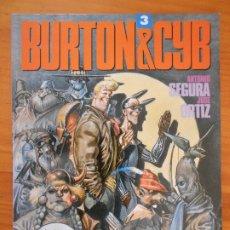 Cómics: BURTON & CYB Nº 3 - TOUTAIN (CO). Lote 182592168