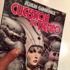 Cómics: COMIC BOOK CUESTIÓN DE TIEMPO DE JUAN GIMENEZ, TOUTAIN EDITOR, 1984. Lote 182645803