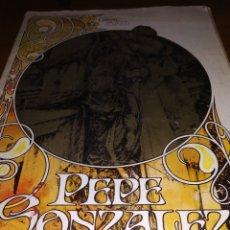 Cómics: CUANDO EL CÓMIC ES ARTE PEPE GONZÁLEZ. Lote 182918836