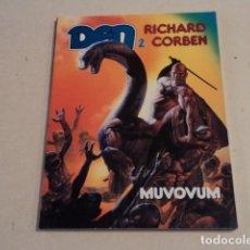 Cómics: DEN 2 - MUVOVUM - RICHARD CORBEN - MUY BUEN ESTADO. Lote 183305120