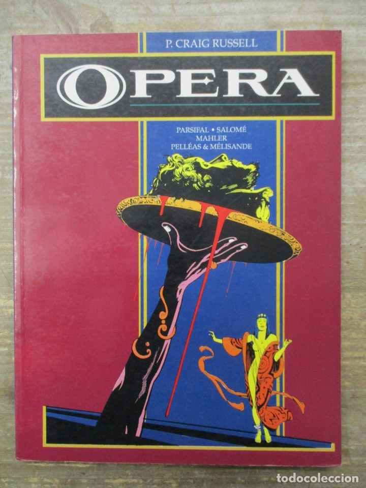 Cómics: OPERA - P . CRAIG RUSELL - PARSIFAL . SALOME - TOUTAIN EDITOR - Foto 1 - 183307407