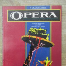 Cómics: OPERA - P . CRAIG RUSELL - PARSIFAL . SALOME - TOUTAIN EDITOR. Lote 183307407