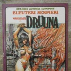 Cómics: MORBUS GRAVIS 2 - DRUUNA - ELEUTERI SERPIERI - TOUTAIN EDITOR. Lote 183307890