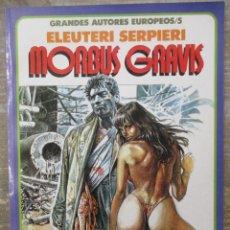 Cómics: MORBUS GRAVIS - ELEUTERI SERPIERI - TOUTAIN EDITOR. Lote 183308051