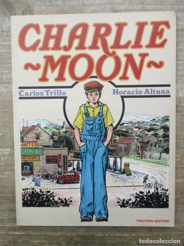 CHARLIE MOON - TRILLO / ALTUNA - TOUTAIN EDITOR (Tebeos y Comics - Toutain - Álbumes)