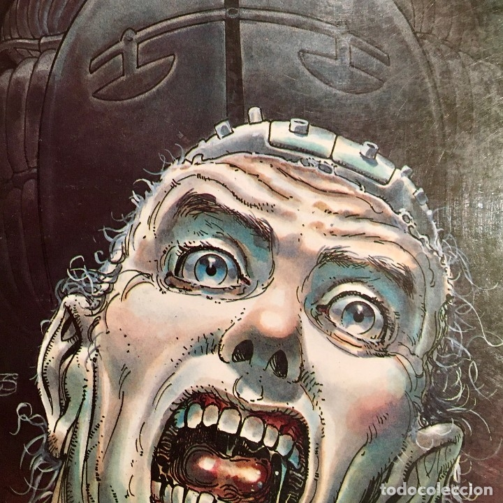 Cómics: Comic book EL EXTRAÑO JUICIO A ROY ELY de Juan Gimenez, Toutain editor, 1984 - Foto 3 - 199311018