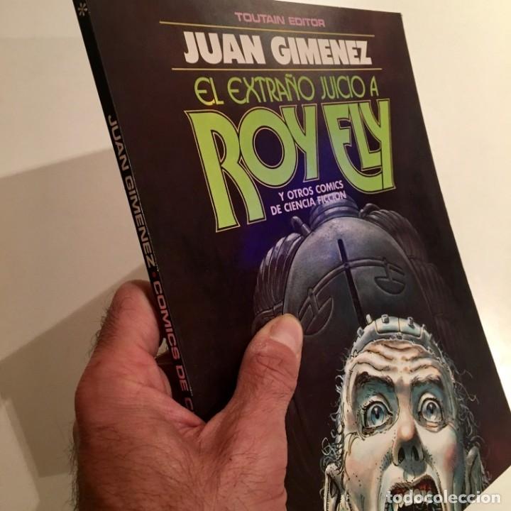 Cómics: Comic book EL EXTRAÑO JUICIO A ROY ELY de Juan Gimenez, Toutain editor, 1984 - Foto 4 - 199311018