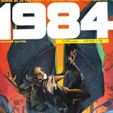 Cómics: COMIC 1984 RETAPADO EXTRA Nº 12 NÚMEROS 58-59-60-FANTASÍA-CIENCIA FICCIÓN NUEVO. Lote 183369542
