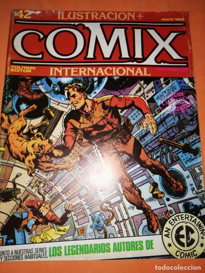Cómics: COMIX INTERNACIONAL. LOTE DE NUMEROS SUELTOS. DOS RETAPADOS Y ULTIMO NUMERO. - Foto 19 - 169558564